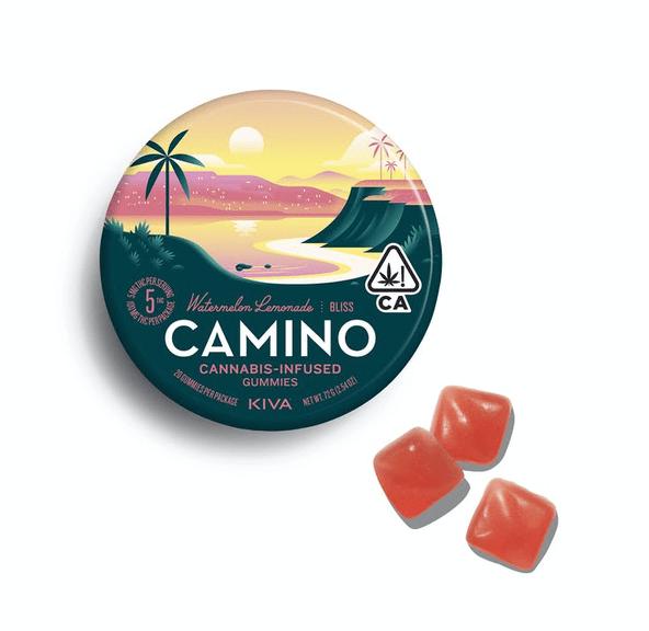 "Camino Watermelon Lemonade ""Bliss"" Gummies - 100mg"