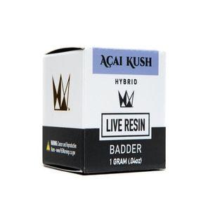 Acai Kush Live Resin Badder