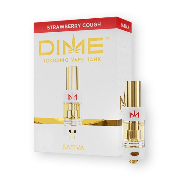 DIME 1000mg Cartridge - Strawberry Cough