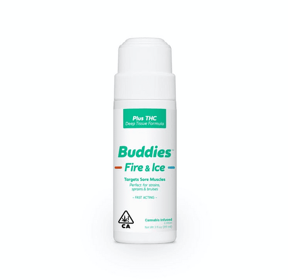 Buddies Fire & Ice Roll-On Topical