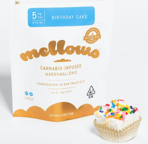 Birthday Cake Marshmallow - 5mg (Single)