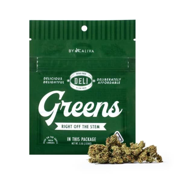 CALIVA DELI GREENS - BLUE DREAM - 3.5G - 26.71% THC