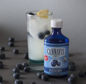 BLUEBERRY, Tincture, 1000mg - Cannavis Syrup