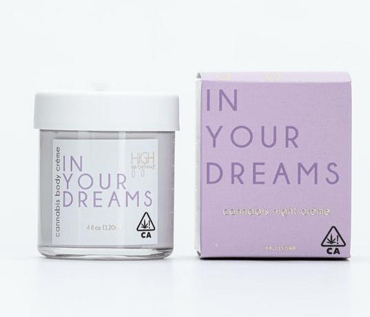 High Gorgeous - In Your Dreams Cannabis Crème