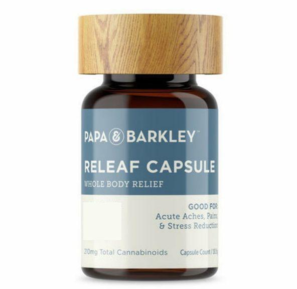 1. Papa & Barkley 30:1 CBD/THC 200 mg Releaf Capsules - 7 CT **SALE**