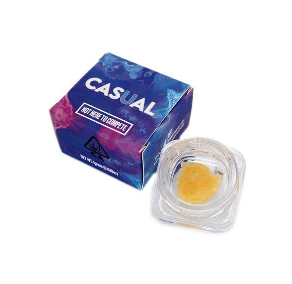 (PRE-ORDER ONLY) Platinum Kush - 1g Badder (78% THC) Casual