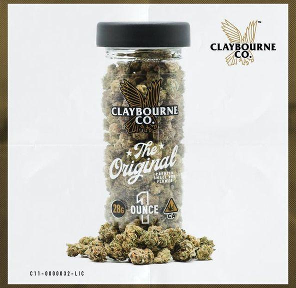 Claybourne Co. Premium Small Bud 28g - Runtz
