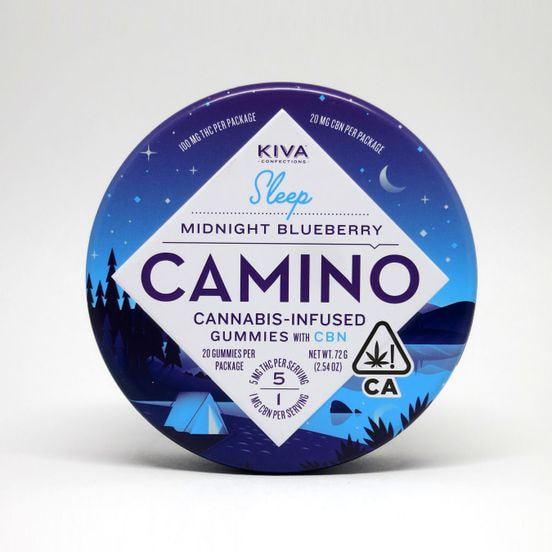 Camino Gummies CBN Blueberry Sleep