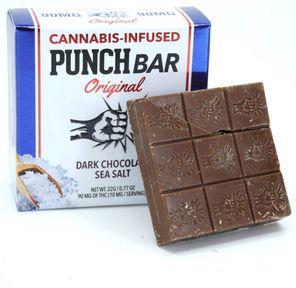 90MG PunchBar Original - Dark Chocolate Sea Salt