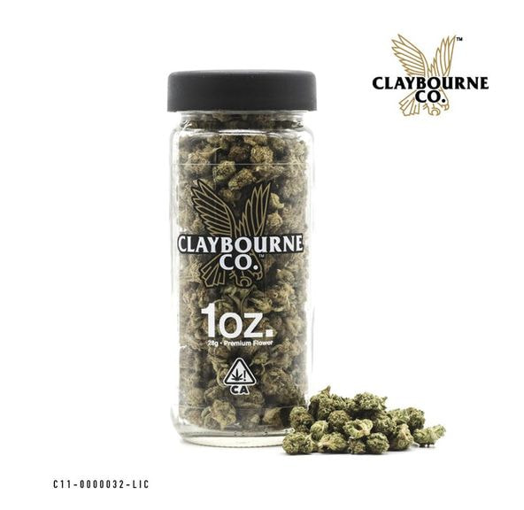 Claybourne Co. Premium Small Bud 28g - Gush Mints