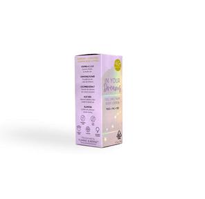 High Gorgeous: In Your Dreams - Full Spectrum Body Lotion, 300mg