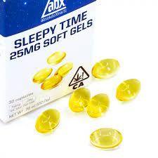 [ABX] THC Soft Gels - 25mg 10ct - Sleepy Time