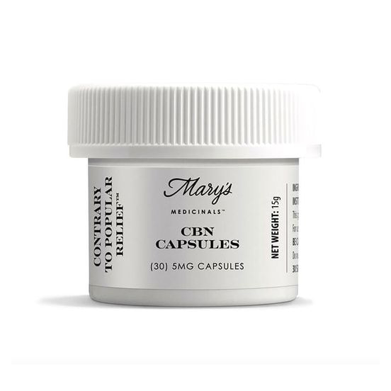 30pk CBN Capsules by Mary's