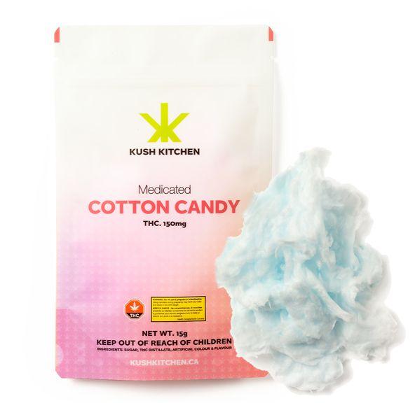 150mg Blueberry Cotton Candy by Kush Kitchen