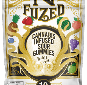 100mg Sour Variety (10pc Gummies) - NFUZED