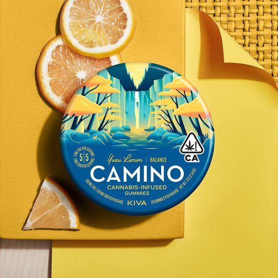 [Camino] CBD Gummies - 1:1 - Yuzu Lemon (PROMO)