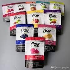 Flav - Sour Gummy Rings - Blue Raspberry