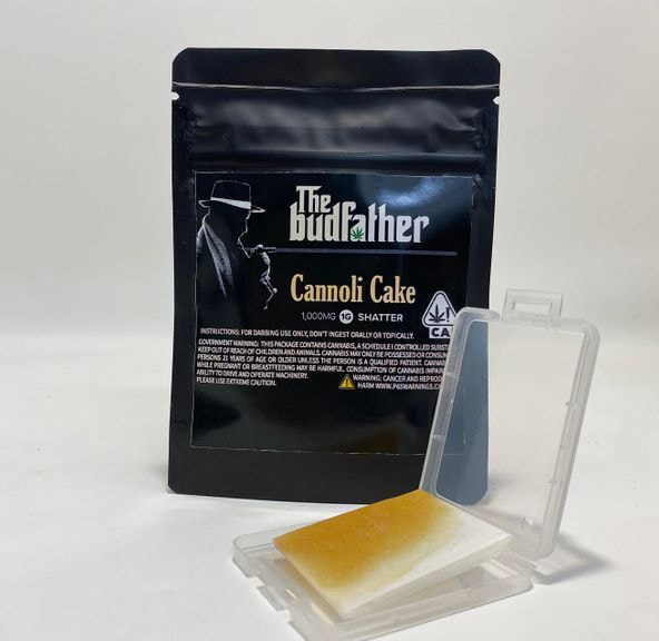 Budfather Cannoli Cake Shatter 1g 85.52%