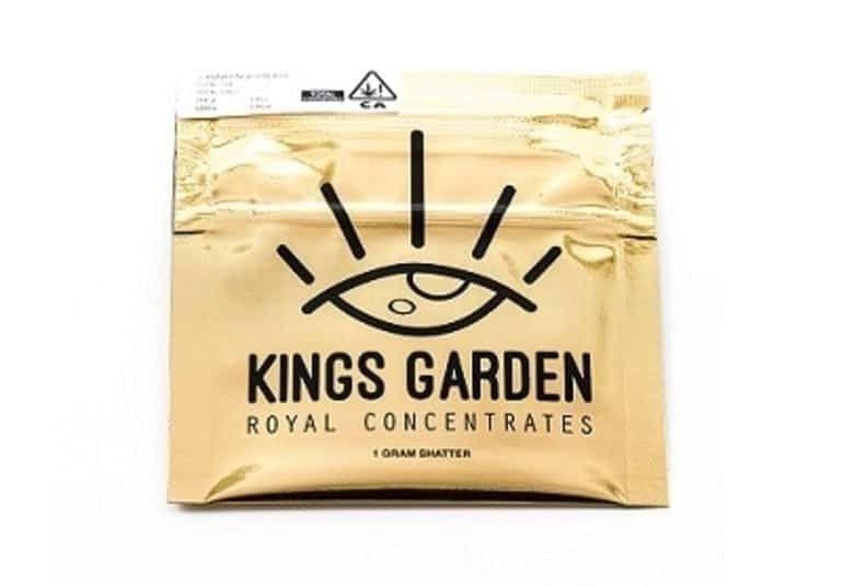 King's Garden - Live Shatter - Blue Dream 1g