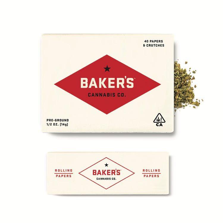 Baker's 1/2oz. Pouch - Peach Ozz - 22.02% TOTAL
