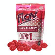 Flav Cherry Drops 100mg