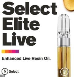 Select Live Resin .5g - White Strawberry 83%