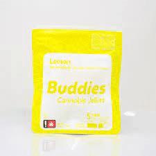 Buddies 20mg Lemon Gummies - 5 Pack