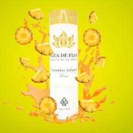 Agua de Flor -100mg Piña (Pineapple)