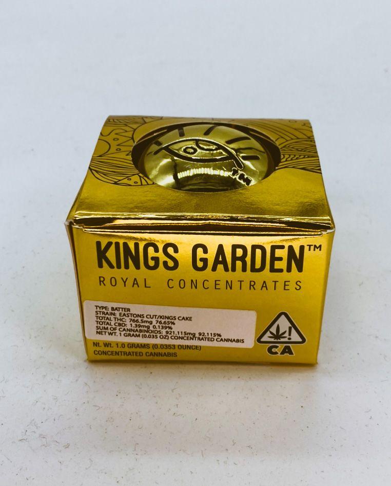 Easton's Cut King's Cake - 1g Live Badder (THC 76%) by King's Garden