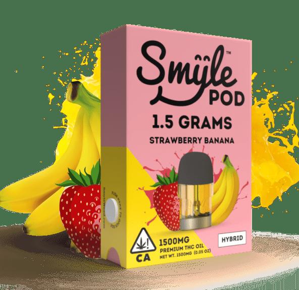 SMYLE POD - STRAWBERRY BANANA 1.5 GRAM
