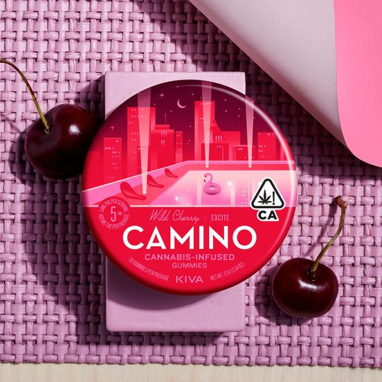 [Camino] Gummies - 100mg - Wild Cherry (PROMO)