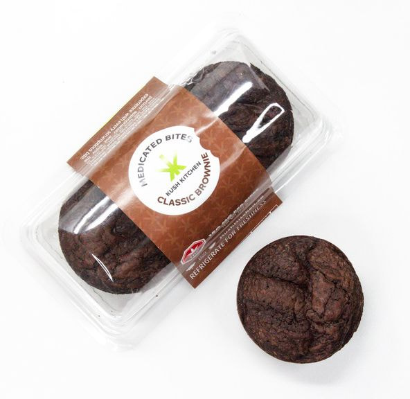 300mg Classic Brownie by Kush Kitchen