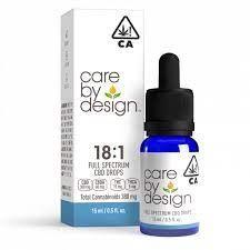 Care By Design 18:1 CBD Oral Drops 15ml