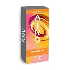 Airo Pro | Pineapple Diesel - Strain Series | Sativa | Cartridge | .5g | 70.06% THC
