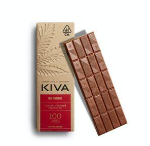 KIVA - Kiva Bar Milk Chocolate - 100mg