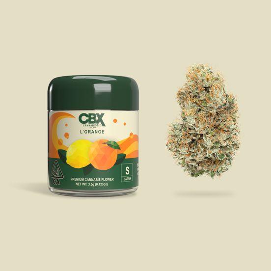 Cannabiotix - L'Orange Premium Cannabis Flower - 27.33% THC