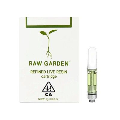 BANANA GLUE #17, Cart, 1G, 85.08% -Raw Garden