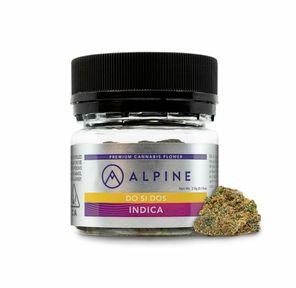B. Alpine 3.5g Flower - Quality 9/10 - Do Si Dos (~24%)