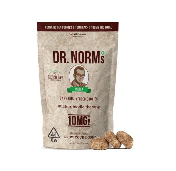 Dr. Norm's - Gluten Free Snickerdoodle Cookies Bag 100mg