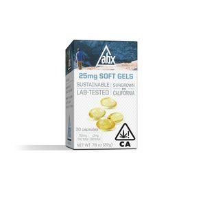 [ABX] THC Soft Gels - 25mg 30ct - Refresh