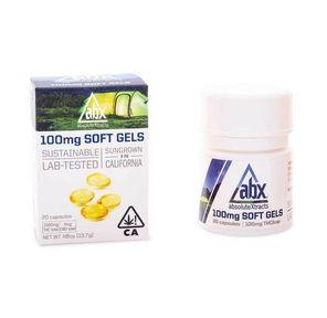 [ABX] THC Soft Gels - 100mg 20ct - Refresh
