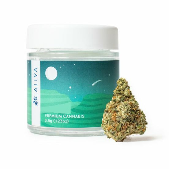 B. Caliva 3.5g Flower - 9/10 - Platinum Jack (~26% THC)
