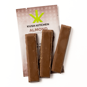200mg Milk Chocolate & Almond Bar by Kush Kitchen