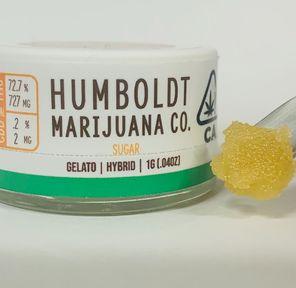 GELATO SUGAR 1g HYBRID HUMBOLDT MARIJUANA Co,