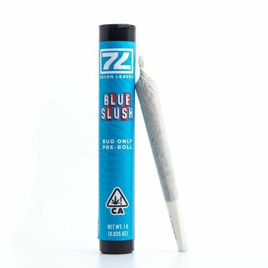 BLUE SLUSH, Pre-Roll, 1g, 22.82%- Seven Leaves