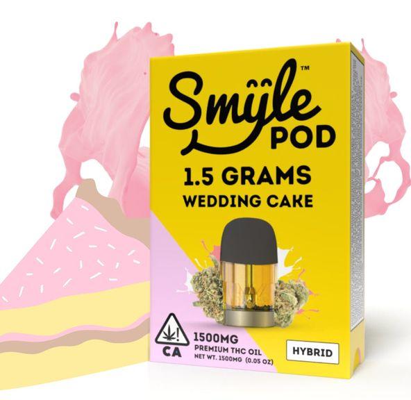 SMYLE POD - WEDDING CAKE 1.5 GRAM POD