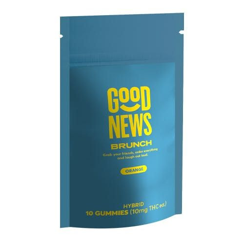 Good News Brunch Orange 10mg Gummy
