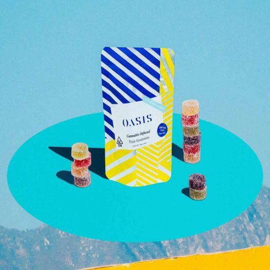 100mg Fruit Gummies - OASIS