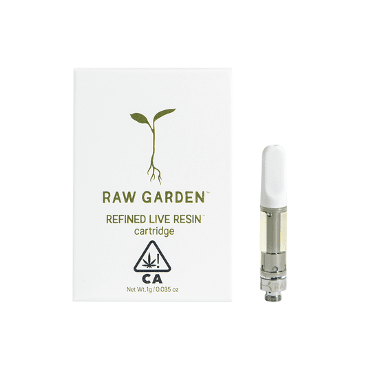 1g Raw Garden Citrus Breeze CBD 1:2 Live Resin Cartridge