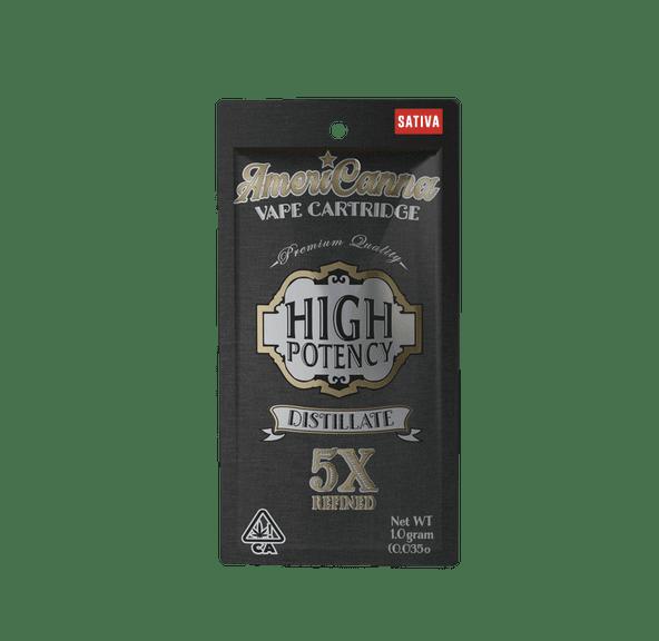 AmeriCanna Sauceberry 1g Cartridge 91%